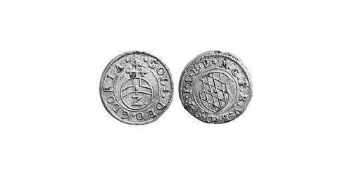 2 Kreuzer Duchy of Bavaria (907 - 1623) Silver Maximilian I, Elector of Bavaria (1573 – 1651)