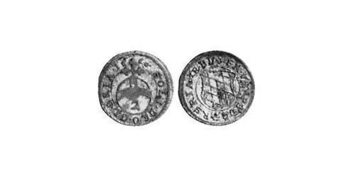 2 Kreuzer Electorate of Bavaria (1623 - 1806) Silver Ferdinand Maria, Elector of Bavaria (1636 – 1679)