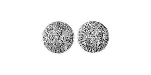 2 Kreuzer Imperial City of Augsburg (1276 - 1803) Silver Ferdinand II, Holy Roman Emperor  (1578 -1637)