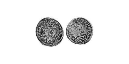 2 Kreuzer Prince-Bishopric of Bamberg (1245–1802) Silver