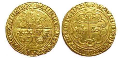 2 Leopard Kingdom of France (843-1791) Gold Henry VI (1421-1471)