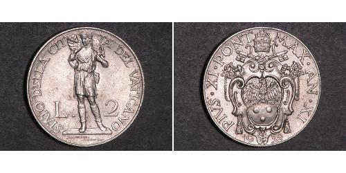 2 Lira Vatican (1926-)
