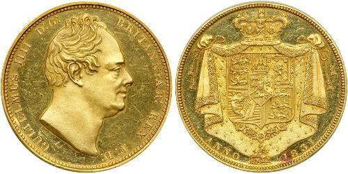 2 Pound United Kingdom of Great Britain and Ireland (1801-1922) / United Kingdom Gold William IV (1765-1837)