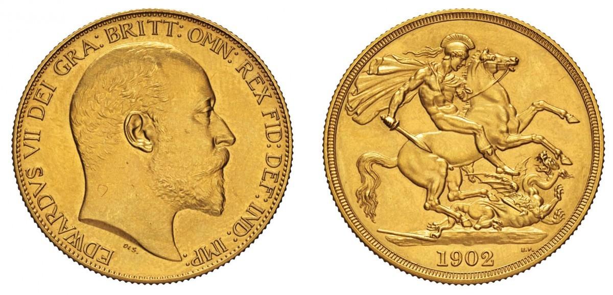 Moneta 2 pound regno unito di gran bretagna e irlanda for Edoardo viii del regno unito