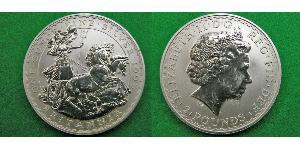 2 Pound United Kingdom (1922-) Silver Elizabeth II (1926-)