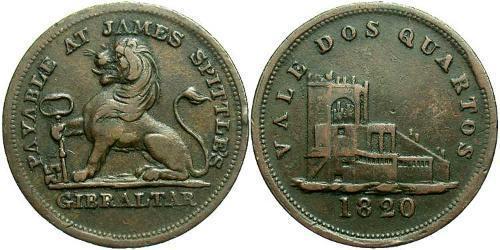 2 Quarto Gibraltar Copper