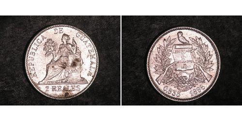 2 Real Guatemala Plata