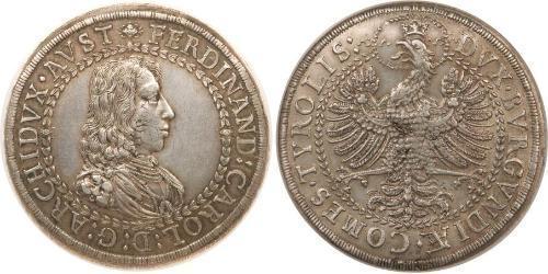2 Thaler Holy Roman Empire (962-1806) Silver Ferdinand III, Holy Roman Emperor (1608-1657)