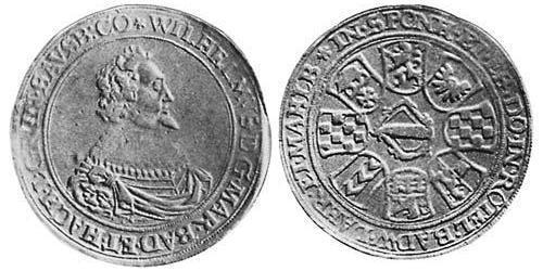 2 Thaler Margraviate of Baden (1112 - 1803) Silver