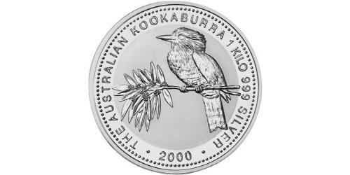 30 Dollar Australia (1939 - ) Silver Elizabeth II (1926-)