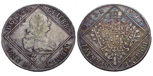 30 Kreuzer Austria  Silver