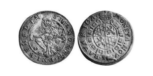 30 Kreuzer Duchy of Bavaria (907 - 1623) Silver Maximilian I, Elector of Bavaria (1573 – 1651)