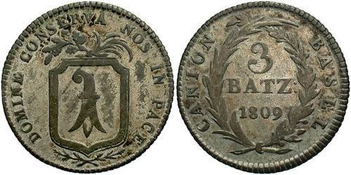 3 Batz Switzerland Silver