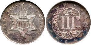 3 Cent États-Unis d