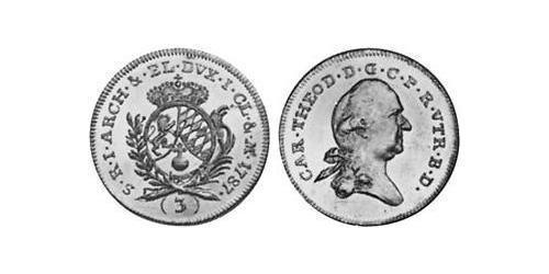 3 Ducat Electorate of Bavaria (1623 - 1806) Gold