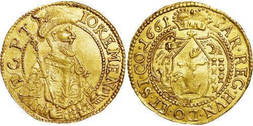 3 Ducat Principality of Transylvania (1571-1711) Gold