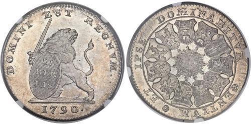 3 Florin Austrian Netherlands (1713-1795) Silber