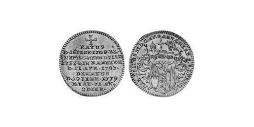 3 Kreuzer Prince-Bishopric of Bamberg (1245–1802) Billon