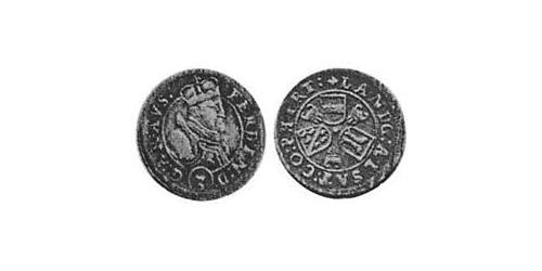 3 Kreuzer Alsace Silver Ferdinand II, Archduke of Austria (1529 – 1595)