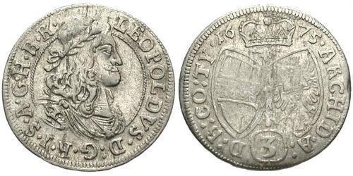 3 Kreuzer Austria  Silver