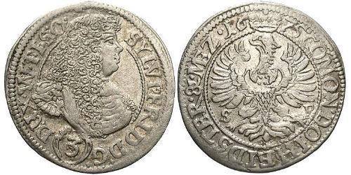 3 Kreuzer Germany Silver