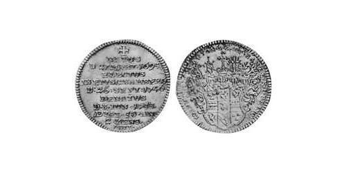 3 Kreuzer Prince-Bishopric of Bamberg (1245–1802) Silver