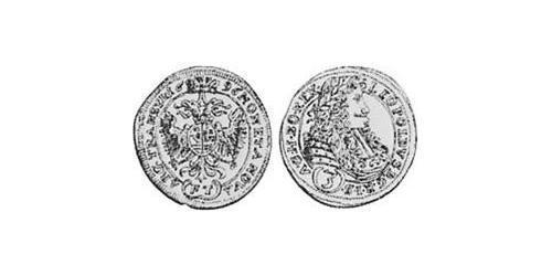 3 Kreuzer Principality of Transylvania (1571-1711) Silver