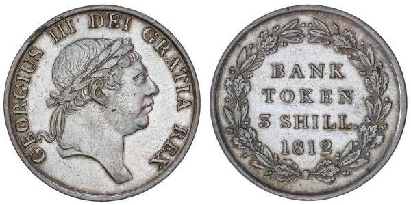 3 Shilling United Kingdom Silver George III (1738-1820)