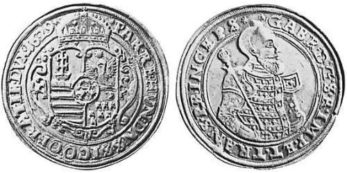 3 Thaler Principality of Transylvania (1571-1711) Silver