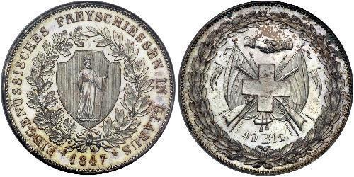 40 Batz Switzerland Silver