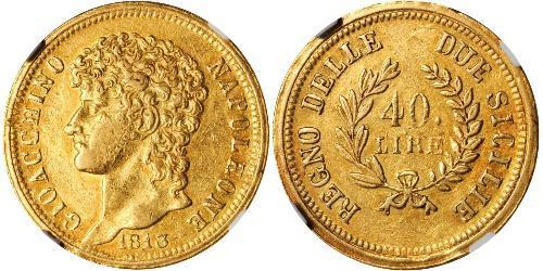 40 Lira Italian city-states Gold