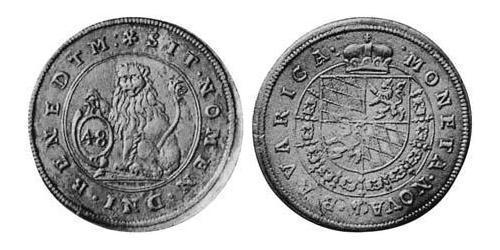 48 Kreuzer Duchy of Bavaria (907 - 1623) Silver Maximilian I, Elector of Bavaria (1573 – 1651)