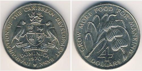 4 Доллар Доминика Никель/Медь