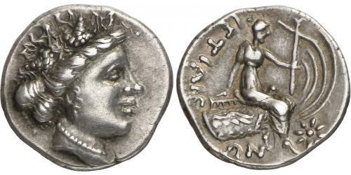 4 Обол / 1 Tetrobol Древняя Греция (1100BC-330) Серебро