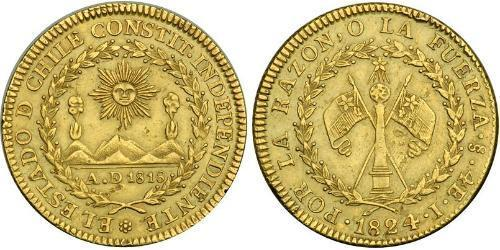 4 Escudo Chile Gold