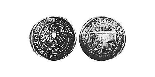 4 Kreuzer Principality of Ansbach (1398–1792) Silver Joachim Ernst, Margrave of Brandenburg-Ansbach (1583 – 1625)