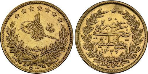 500 Piastre Ottoman Empire (1299-1923) Gold
