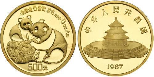 500 Yuan Cina Oro