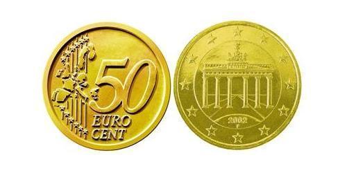 50 Евроцент Германия Алюминий/Цинк/Олово/Медь