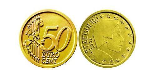 50 Евроцент Люксембург Алюминий/Цинк/Олово/Медь
