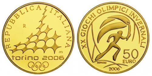 50 Евро Италия Золото