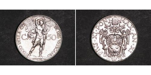 50 Сентесимо Ватикан (1926-)