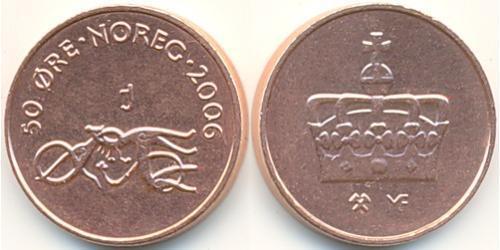 50 Эре Норвегия Бронза