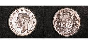 50 Cent Canada Silver George VI (1895-1952)