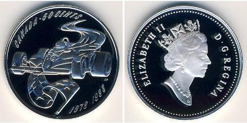 50 Cent Canada Silver