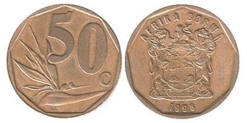 50 Cent South Africa Steel/Brass