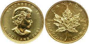 50 Dollar Canada Gold Elizabeth II (1926-)