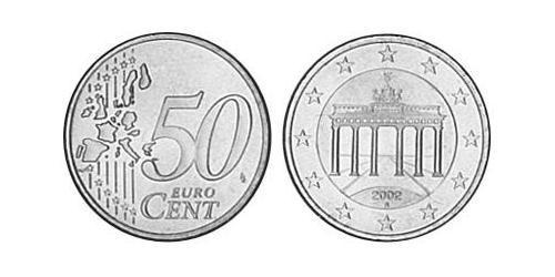 50 Euro Federal Republic of Germany (1990 - ) Brass