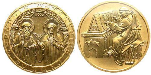 50 Euro Republic of Austria (1955 - ) Gold