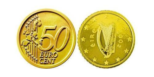 50 Eurocent Ireland (1922 - ) Tin/Aluminium/Copper/Zinc